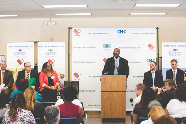 Community Health Worker announcement press conference
